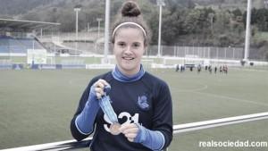 """Nerea Eizagirre: """"Estamos muy contentas con el trabajo y con el bronce"""""""