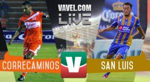 Resultado Correcaminos UAT - Atlético San Luis en Copa MX 2015 (2-1)