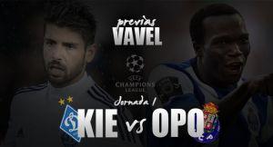 Dinamo Kiev - Oporto: el reencuentro con un viejo conocido