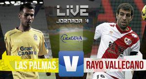 Resultado UD Las Palmas vs Rayo Vallecano en la Liga BBVA 2015 (0-1)