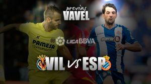Villarreal - Espanyol: los periquitos quieren encender las alarmas en el Submarino Amarillo