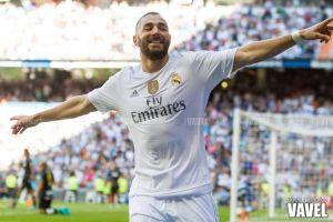 Benzema se coloca como Pichichi tras su gol al Atlético