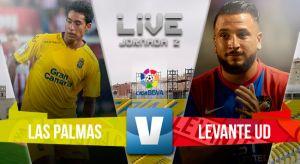 Resultado Las Palmas vs Levante en Liga BBVA 2015 (0-0)