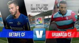 Resultado Getafe vs Granada en Liga BBVA 2015 (1-2)