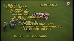 La vista atrás: final Copa del Rey 1982