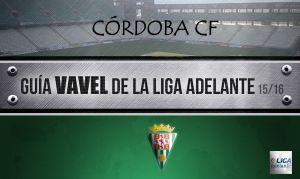 Córdoba CF 2015/2016: volver a soñar