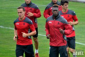 Diop es baja contra el Sporting y Caicedo, en reposo