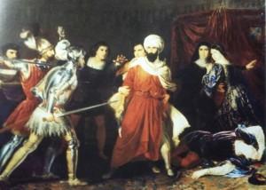 El asalto a la reina Isabel la Católica