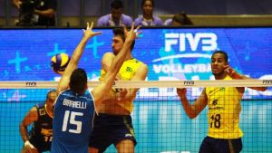 Volley, World League maschile: il Brasile dispone dell'Italia