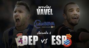 Deportivo de La Coruña - Espanyol: Riazor busca su primera victoria