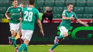 Radovic saca el fusil y da los tres puntos al Legia