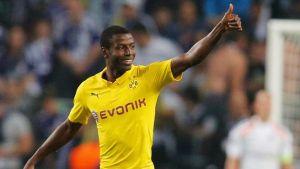 Adrián Ramos entró para apuntarse un doblete en la victoria del Borussia Dortmund