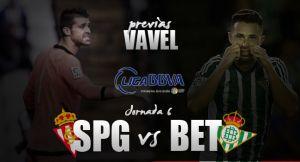 Sporting de Gijón - Real Betis: Ganar para mantener la calma