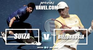Copa Davis 2017. Previa Suiza - Bielorrusia: buscando un lugar en la élite