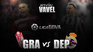 Granada CF - Deportivo de La Coruña: duelo de rachas