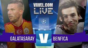 Resultado Galatasaray vs Benfica en la Champions League 2015 (2-1)