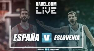 Resumen España 72 vs 92 Eslovenia en Eurobasket 2017