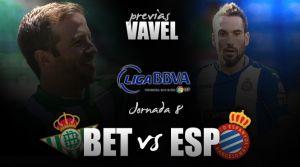 Real Betis - RCD Espanyol:la oportunidad de seguir escalando