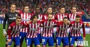 Atlético de Madrid - Valencia CF, puntuaciones del Atlético, jornada 9 de la Liga BBVA