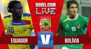 Ecuador vs Bolivia en vivo online (1-0)