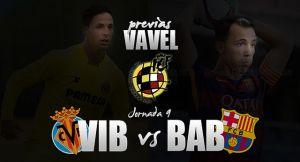 Villarreal'B'- Barcelona'B': el Barcelona se topa con el líder