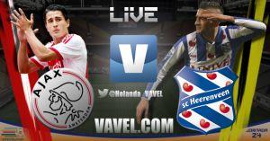 Ajax vs Heerenveen en vivo y en directo online