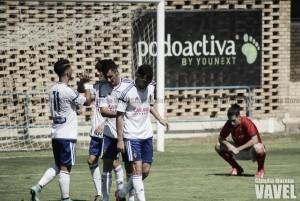 Fotos e imágenes del Deportivo Aragón 3-0 Cariñena, jornada 3 de Tercera División