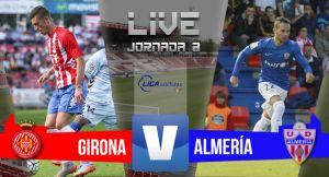 Resultado Girona vs Almería en Liga Adelante 2015 (1-1)