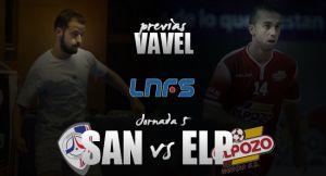 Santiago Futsal - ElPozo Murcia: la armada gallega contra su 'bestia negra'