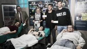 El Villarreal se vuelca con la campaña 'Dona Sangre'