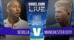 Resultado Sevilla vs Manchester City en Champions 2015 (1-3): El City fue muy superior hoy