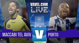 Resultado Maccabi Tel Aviv vs FC Porto en la Champions League 2015 (1-3): Loptegui refuerza el liderato