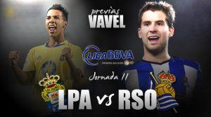 Las Palmas - Real Sociedad: reencuentro en el Gran Canaria