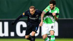Live Inter - Wolfsburg, diretta risultato partita Europa League (1-2)