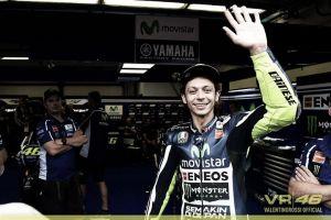"""Valentino Rossi: """"Esta mañana la salida fue buena para mí"""""""