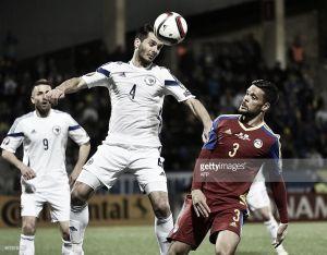 Marc Vales jugó los 90 minutos con Andorra, que perdió 0-3