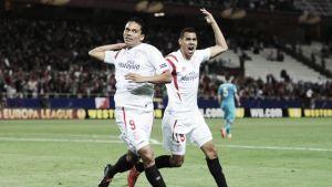 Carlos Bacca anotó en la clasificación del Sevilla a semis de la Europa League