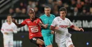 Monaco accroché à Rennes, laisse la 2ème place à l'OL