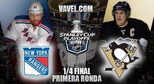 New York Rangers – Pittsburgh Penguins: viejos conocidos se reúnen de nuevo