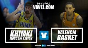 Previa Khimki - Valencia Basket: vuelta a la Euroliga tres años después