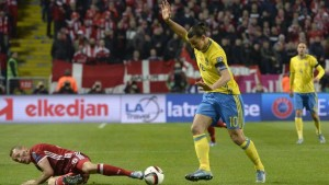 Svezia - Danimarca 2-1: gli scandinavi si avvicinano agli Europei
