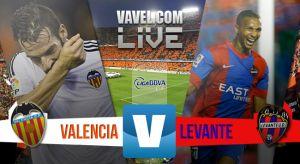 Resultado Valencia vs Levante en Liga 2015 (3-0)