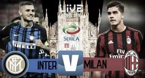 Risultato Inter - Milan in diretta, LIVE Serie A 2017/18 - Icardi(3), Suso, Bonaventura! (3-2)
