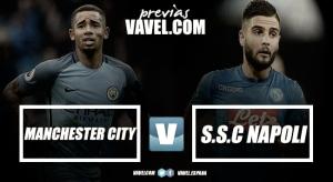 Previa Manchester City - Napoli: Duelo por el liderato