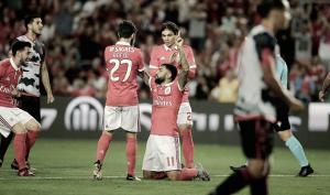Olhanense x Benfica: Triunfo encarnado com vantagem mínima