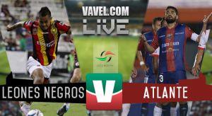 Resultado Leones Negros UDG vs Atlante en Ascenso MX 2015 (0-0)