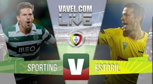 Resultado Sporting x Estoril na Liga NOS 2015 (1-0)