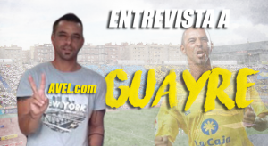 """Entrevista. Guayre: """"Ojalá gane laUD Las Palmas, pero tiene que tener paciencia y trabajar el partido"""""""