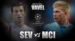 Sevilla FC - Manchester City: a por tres puntos de oro