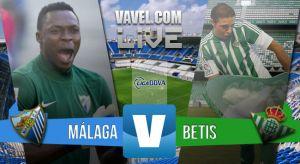 Resultado Málaga CF vs Real Betis en la Liga 2015/2016 (0-1)